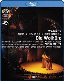 WAGNER: Die Walküre (staged by La Fura dels Baus) - Zubin Mehta [Blu-Ray]