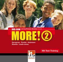 MORE! 2 DVD-ROM mit Schularbeiten-Training / Einzelplatzversion