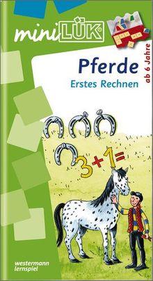 miniLÜK: Pferde Erstes Rechnen: Elementares Lernen für Kinder ab 6 Jahren