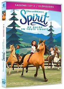 Coffret spirit, au galop en toute liberté, saisons 1 et 2, 13 épisodes