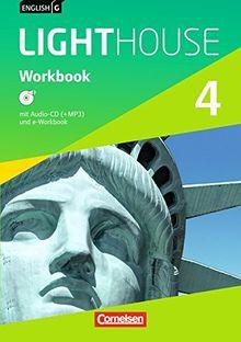 English G LIGHTHOUSE - Allgemeine Ausgabe: Band 4: 8. Schuljahr - Workbook mit Audio-CD: Audio-Dateien auch als MP3