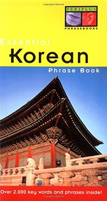 Essential Korean Phrase Book (Essential Phrasebook Series)