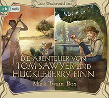 Die Abenteuer von Tom Sawyer und Huckleberry Finn: Mark-Twain-Box