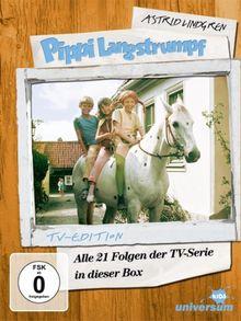 Astrid Lindgren: Pippi Langstrumpf - Alle 21 Folgen der TV-Serie in dieser Box (TV-Edition [5 DVDs]
