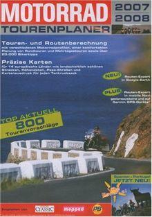 Motorrad Tourenplaner 2007/2008 (DVD-ROM) (DVD-Box)