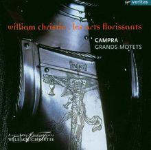 Campra - Grands motets / Azzaretti, Agnew, Renhold, Rivenq, Foster-Williams, Marzorati, Les Arts Florissants, Christie