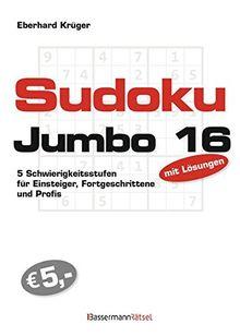 Sudokujumbo 16: 5 Schwierigkeitsstufen - für Einsteiger, Fortgeschrittene und Profis