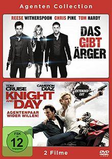 Das gibt Ärger / Knight and Day - Agentenpaar wider Willen [2 DVDs]
