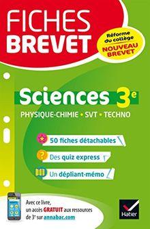 Sciences 3e : Nouveau brevet