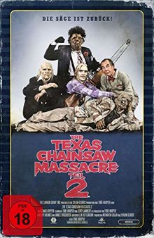 The Texas Chainsaw Massacre 2 - Limited Collector's Edition im VHS-Design [Blu-ray]