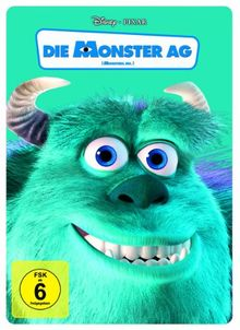 Die Monster AG (Steelbook) [Limited Edition] [2 DVDs]