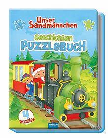 """""""Unser Sandmännchen"""" Geschichten-Puzzlebuch: mit 4 Puzzle"""