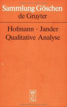 Qualitative Analyse (Sammlung Gaschen)