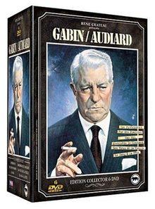 Coffret Gabin / Audiard 6 DVD : Le Président / Rue des prairies / Archimeède le clochard / Le Sang à la tête / Les Vieux de la vieille [FR Import]