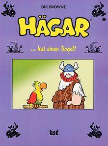 Hägar 07. Hägar hat einen Vogel