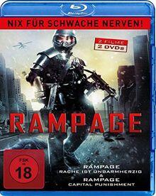 Rampage Double Feature - Nix für schwache Nerven! [Blu-ray]