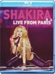 Shakira - Live from Paris [Blu-ray]