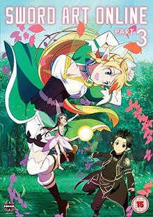 Sword Art Online Part 3 (Episodes 15-19) [DVD] [UK Import]