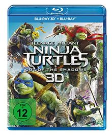 Teenage Mutant Ninja Turtles - Out of the Shadows (+ Blu-ray 2D)