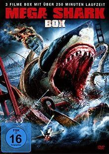 Mega Shark 1-3 Box-Edition [3 DVDs]