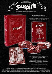 Suspiria - 40 Anniversary Leatherbook Edition (+ DVD) (+ Bonus-DVD) [Blu-ray] [Limited Edition]