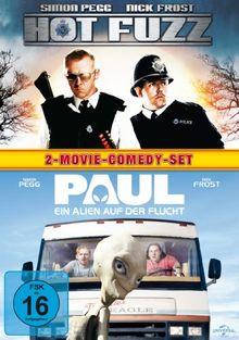 Hot Fuzz - Zwei abgewichste Profis & Paul - Ein Alien auf der Flucht - 2-Movie-Comedy-Set