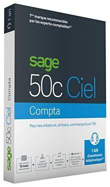 Sage 50C Compta 1 an d'assistance