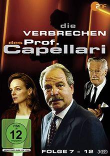 Die Verbrechen des Prof. Capellari - Folge 7-12 (3 DVDs)