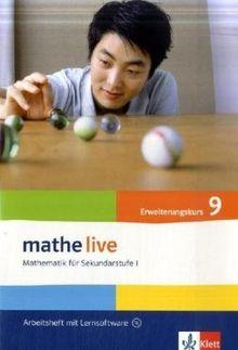 Mathe Live / Arbeitsheft plus Lösungsheft mit Lernsoftware 9. Schuljahr