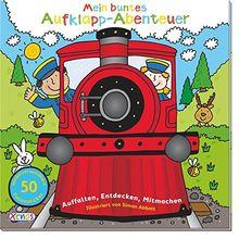 Mein buntes Aufklapp-Abenteuer: Eisenbahn: Auffalten, Entdecken, Mitmachen.
