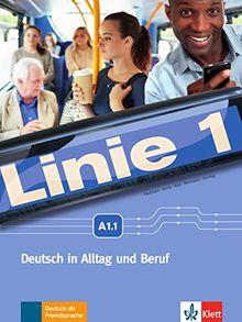 Linie 1 A1: Kurs- und Übungsbuch mit DVD-ROM, Teil 1