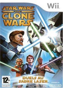 STAR WARS CLONE WARS WII