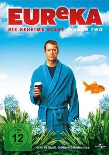 EUReKA: Die geheime Stadt - Season 2 (4 DVDs)