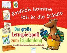 Endlich komme ich in die Schule. Der große Lernspielspaß zum Schulanfang: Lesen, Schreiben, Rechnen, Malen mit dem Bücherbär