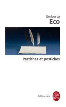 Pastiches et postiches (Ldp Bib.Essais)