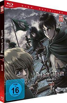 Attack on Titan - Staffel 2 - Vol. 1 - [Blu-ray]