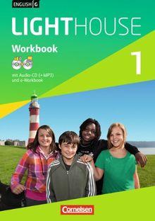 English G LIGHTHOUSE - Allgemeine Ausgabe: Band 1: 5. Schuljahr - Workbook mit CD-ROM (e-Workbook) und CD: Mit MP3 und WMA