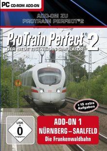 Pro Train Perfect 2 - AddOn 1 Nürnberg-Saalfeld: Die Frankenbahn