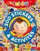 200 stickers et activités Oui-Oui