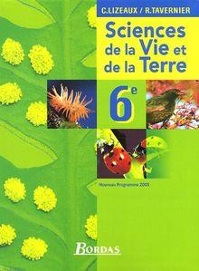 Science et Vie de la Terre 6e : Programme 2005