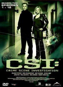 CSI: Crime Scene Investigation - Season 2.1 (3 DVD Digipack)