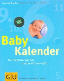 Babykalender (blau). Der Begleiter für das spannende erste Jahr