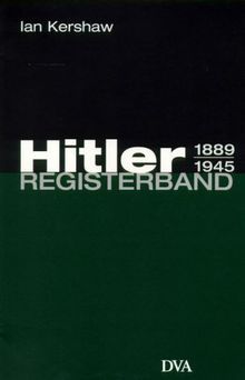 Hitler, Registerband
