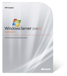 Systembuilder Windows Server Standard inkl. HyperV 2008 R2 64Bit x64 1pk DSP OEI DVD 1-4CPU 5 Clt