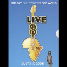 Live 8 - One Day One Concert One World (4 DVDs)