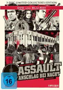 Assault - Anschlag bei Nacht (3 Disc Collectors Edition Mediabook) [Blu-ray] [Limited Collector's Edition]
