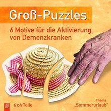 """Groß-Puzzles: Thema Sommerurlaub"""": 6 Motive für die Aktivierung von Demenzkranken"""