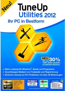 TuneUp Utilities 2012 (1-Platz)