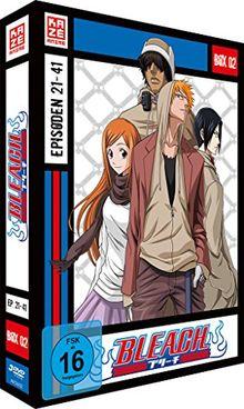 Bleach TV-Serie - Box 2 (Episoden 21-41) [3 DVDs]