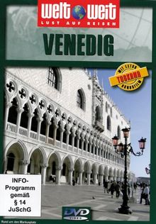 "Venedig (Reihe welt weit) mit Bonusfilm ""Toskana"" Länge: ca. 79 Min."